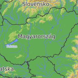 MTB map of Europe